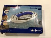 Campingaz navigator 1+1 inflatable boat