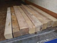 heavy chocks of lengths of wood £2 each
