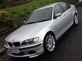 2003 BMW 320i SPORT AUTO SALOON WITH FULL LEATHER INTERIOR