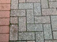 Brindle coloured Block paving (used)