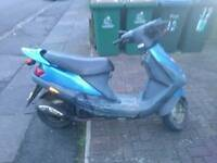 50 cc moped fully running with mot