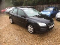 2006 FORD FOCUS 1.6 PETROL 81,000 MILES MOT MAY 2017