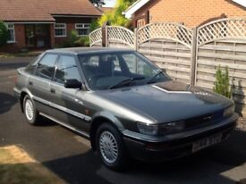 Classic Toyota Corolla 1990 one owner 65000. Fast Appreciating Classic MUST BE SEEN.
