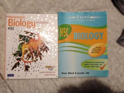HSC BIOLOGY excel revision & heinemann 3rd edition Thornton Maitland Area Preview