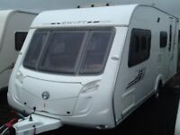 2009 swift challenger 530 /4 berth end changing room