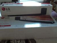 2 x LG SH4 2.1 Wireless Sound Bars and Subwoofer Brand New!!