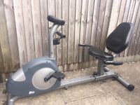 Recumbent Exercise Bike FREE DELIVERY Cycling Training Cardio Fitness Weight Loss Gym Vibro Rower