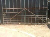 Metal 5 bar Farm gate.
