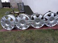 4- 5x100 vw alloy wheels