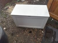 wooden toy box / blanket box - free delivery