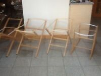 Moses basket stands-£5 for foldable stands and non-foldable rocker stands are £10 each