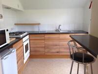 Recently refurbished studio flat on second floor of Victorian house.