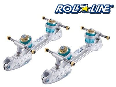 Roll line mistral quad roller skate base plates for ALL QUADS i.e riedell,Bauer.