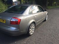 2003,53 PLATE,AUDI A4 TDI SE,ONLY 140K,THREE FORMER KEEPERS FROM NEW,SIX SPEED,MAY TAKE CHEAP P/EX