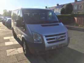 08 PLATE FORD TRANSIT TREND TOURNEO MINI BUS