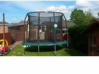 Jumpking oval trampoline 7ftX10ft