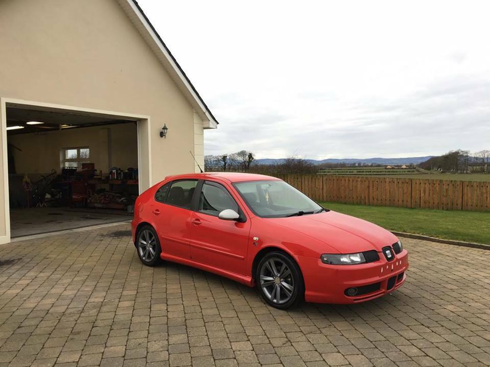 2005 seat leon fr tdi 150 2195 not cupra toledo volkswagen golf bora audi a3 a4 honda civic. Black Bedroom Furniture Sets. Home Design Ideas