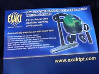 EXAKT ptv600 power - take off dust extraction vacuum cleaner