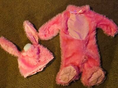 *Easter* Pink Bunny 2-piece Costume for toddlers sz 12 months *Halloween*