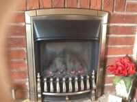Valour Glass Fronted Gas Fire