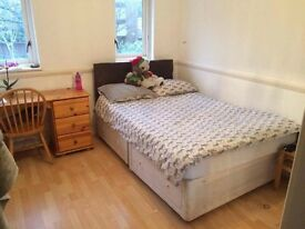 Large double room in social house, zone 1, £685pcm