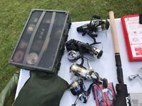 Shimano fishing reels,double fox box full both sides