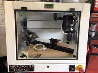 CNC router Denford CNC microrouter compact