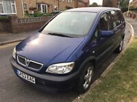 2003 Vauxhall Zafira 1.6L Petrol Manual 7 Seater