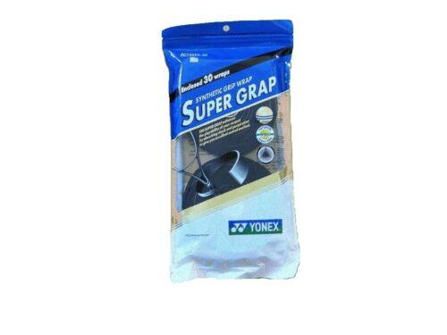 Yonex Super Grap 30 pack Tennis Overgrip - Black