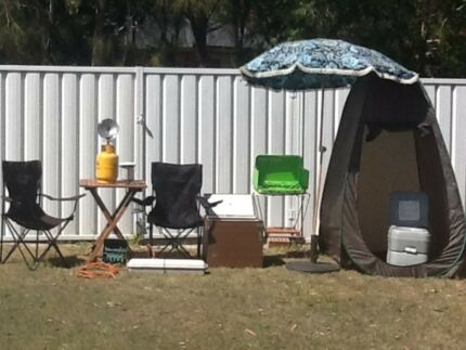 Camping equipment package the lot