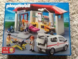 playmobil 5012 clinic set (unopened)