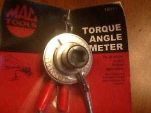 Mac Tools Torque Wrench  Angle Meter London Ontario image 2
