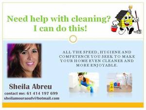 Sheila's Cleaning and baby caring Waverley Eastern Suburbs Preview
