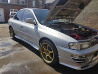 Subaru Impreza wrx JDM version 2 low mileage modified solid car