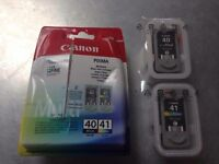 Canon printer cartridges multipack: PG-40 (black) & CL-41 (colour)