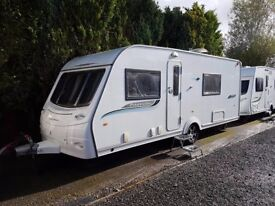 v2011 Coachman Pastiche 560 4 berth caravan FIXED BED, MOTOR MOVER AWNING !