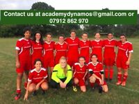 CLAPHAM LADIES FOOTBALL CLUB - PLAYERS WANTED WOMENS/LADIES FOOTBALL SOCCER/FUTSAL/TRIALS/FEMALE/11