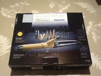 Philips hair tongs heat styling and straightening set - 13 pieces