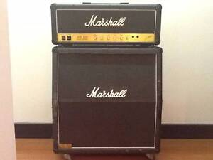 Marshall JCM 800 AMP and Quad Box South Yarra Stonnington Area Preview