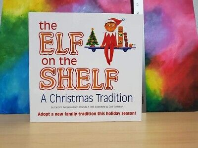 The Elf on the Shelf BOY DOLL-BLUE EYES—A Christmas Tradition with Book—