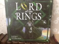 LORD OF THE RINGS BOARD GAME , AGE 12 - ADULT , 2 PLAYERS , AS NEW . EX COND