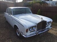 1972 Rolls Royce silver shadow mk1 classic car