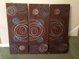 Sets of 3 Wall canvas / pictures