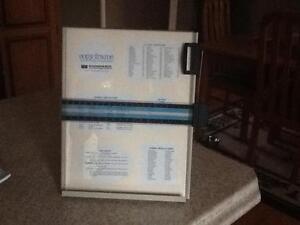Magnetic copy holder