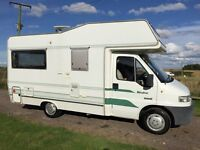 peugeout boxer authomes wanderer,1.9 turbo diesel,power steering,only 52k with full service history