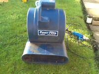 Blue Floor Dryer, in good working order