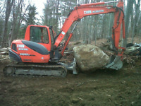 Earthworks and Hardscaping