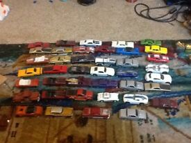 Model cars 1 inch to 2 inches long die cast