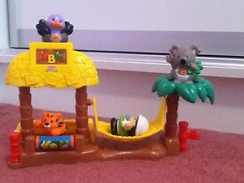 Fisher Price Little People ABC Playset inc 4 figures