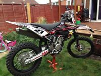 Husqvarna txc 310 ROAD LEGAL 2014 enduro dirt bike excellent condition